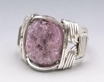 Fashion Jewelry Jewelry & Watches Precise Lepidolite Gemstone 925 Silver Jewelry Adjustable Cuff Easy To Lubricate