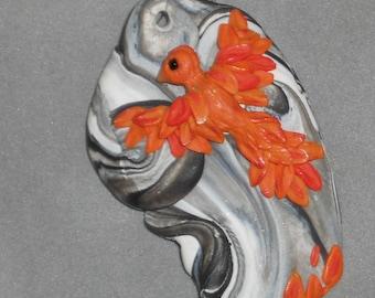 Phoenix amidst the Smoke,  pendant