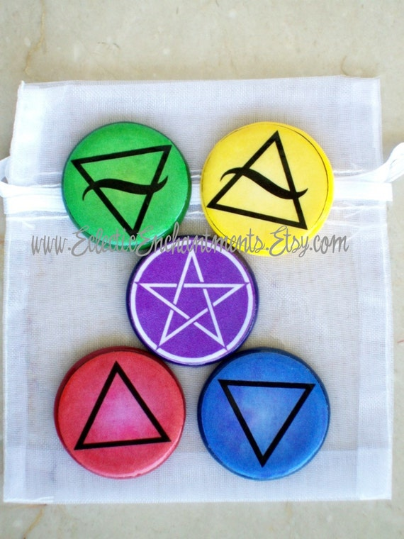 Sacred Symbols Pocket Altar Talismans Witch Wicca Wiccan Pagan Etsy