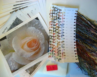 Photo Pattern KIT - Select your cross stitch pattern - Made to Order