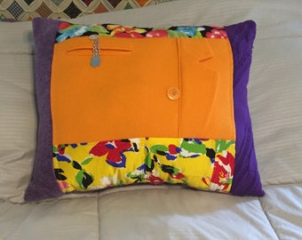 Memory Pillow from Mom's Clothing