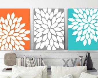 Flower Wall Art | Etsy