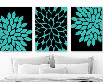Turquoise wall decor   Etsy