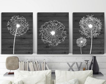 More Colors. DANDELION WALL ART ...
