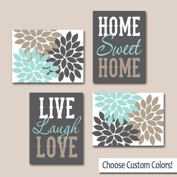 Wall Art Canvas Or Prints Live Laugh Love Home Sweet Home Etsy