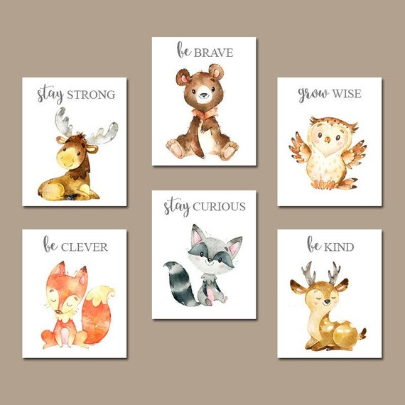 Woodland baby shower invitation animals greenery (With ...  Woodland Creature Baby Shower Quotes