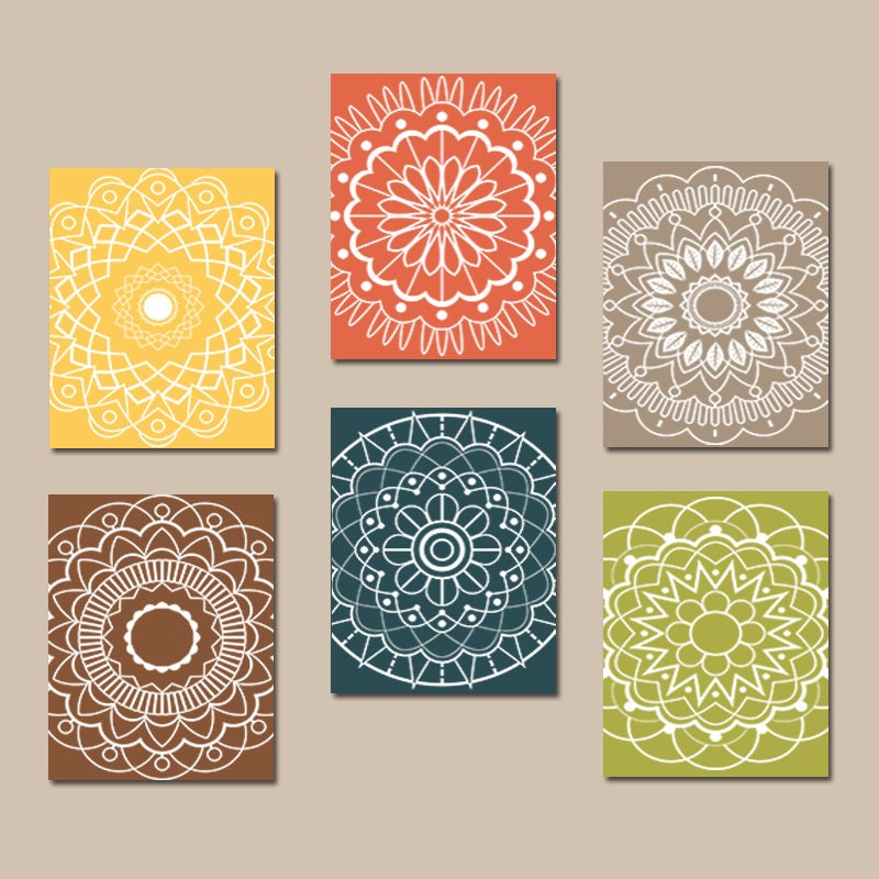 Kitchen Art Australia: Kitchen Wall Art Mandala Design Bedroom Pictures CANVAS Or