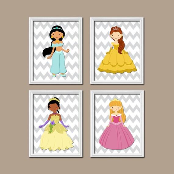 Girly Bedroom Items: Items Similar To Princess Wall Art, Baby Girl Nursery Wall
