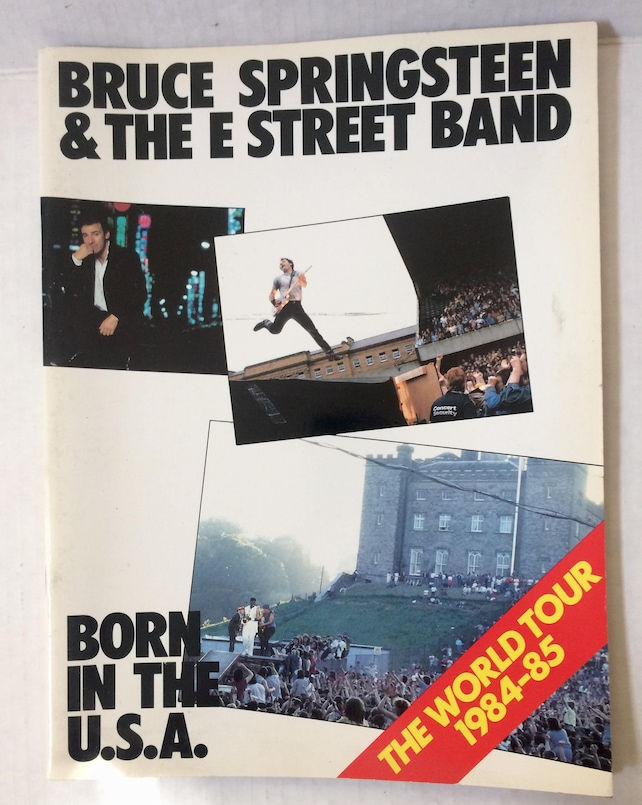 504ff4a4 Vintage '84'85 Bruce Springsteen & The E Street Band   Etsy