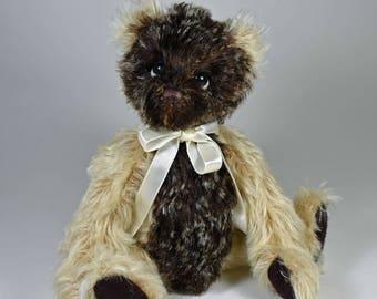 Nick – Artist Teddy Bear, Handmade, Stuffed Animal, Toy, OOAK, Mohair, Jointed, Custom Teddys