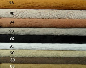 PICK you own 4 colors of SCHULTE viscose, pile 6 mm,  4x 30cm/35cm = ± 12/14 inch.