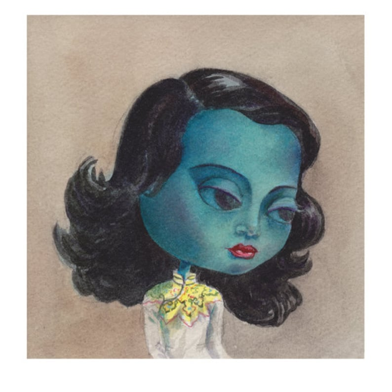 Mimi as The Green Lady or The Chinese image 0