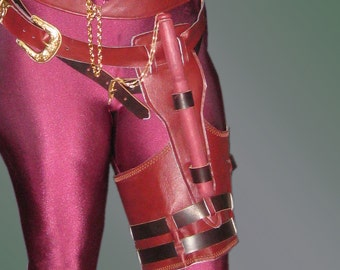 Digital Pattern for Mord'Sith Style Thigh Holster