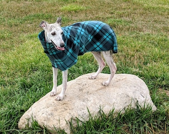 Whippet Dog Coat Digital Print at Home Sewing Pattern Designed to be sewn from Polar Fleece