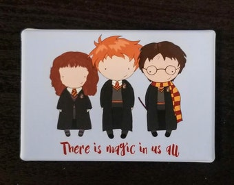 Harry Potter original art refrigerator magnet