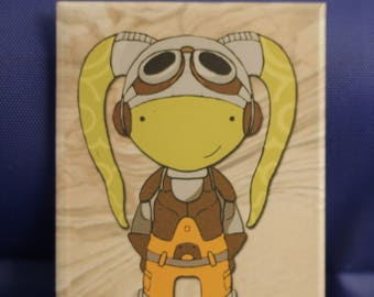 Hera  Rebels fan art chibi refrigerator magnet