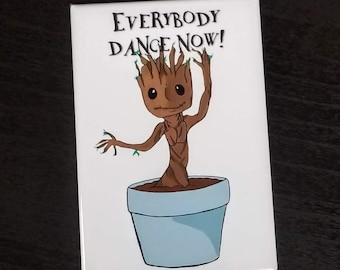 Everybody dance now refrigerator magnet