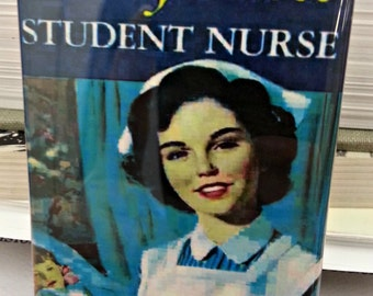 Cherry Ames Student Nurse vintage book cover refrigerator magnet