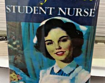 Cherry Ames Student Nurse vintage book cover refrigerator magnet