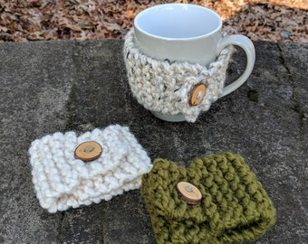 Cup Cozy Coffee Mug Cozy Wrap