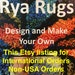 Erika Hickman reviewed For Non-USA Orders  THE BOOK--  Rya Rugs--Design and Make Your Own in the Hardback Cover or Paperback Cover