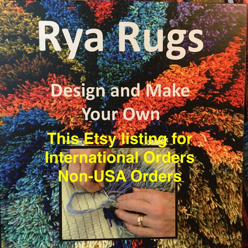 For Non-USA Orders  THE BOOK  Rya RugsDesign and Make Your image 0