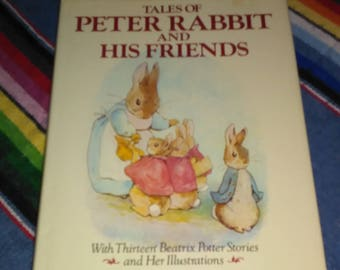 Peter Rabbit and his Friends book by Beatrix Potter 13 Stories & Illustrations Classic Tales free shipping