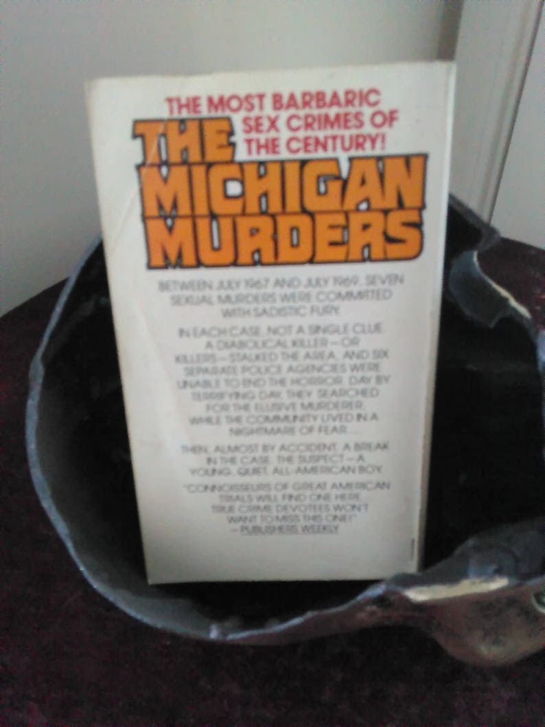 Michigan Murders book Vintage 1978 True Crime Paperback By Edward Keyes  True Story of the Co-Ed Killings True Crime Books Free Shipping