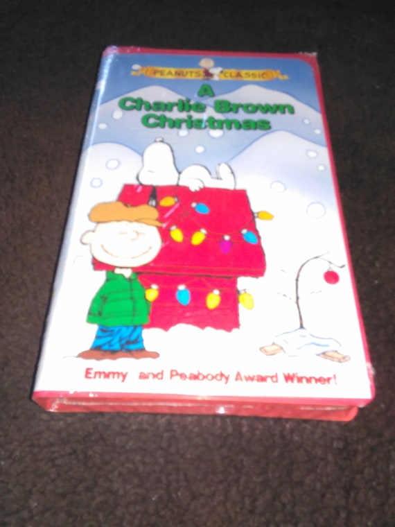 A Charlie Brown Christmas Vhs.A Charlie Brown Christmas Vhs Sealed New The Peanuts Vhs Kids Christmas Vhs Childrens Vhs Charlie Brown Movies Free Shipping