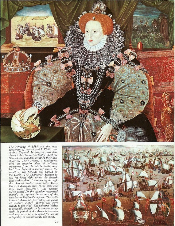 Collage box 3 Elizabeth I