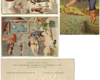 Paris Flea Market Images - Printed Collage Sheet PSS 1588