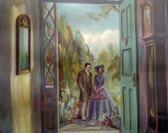Me/&you,boyfriends,lovers,drawings on wood,quads couple lovers,pastels and collages,gift for lovers,same dress couple
