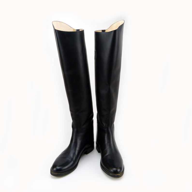 027142f160a9e Effingham Tall Equestrian Riding Boots Bond Boot Company Size 8