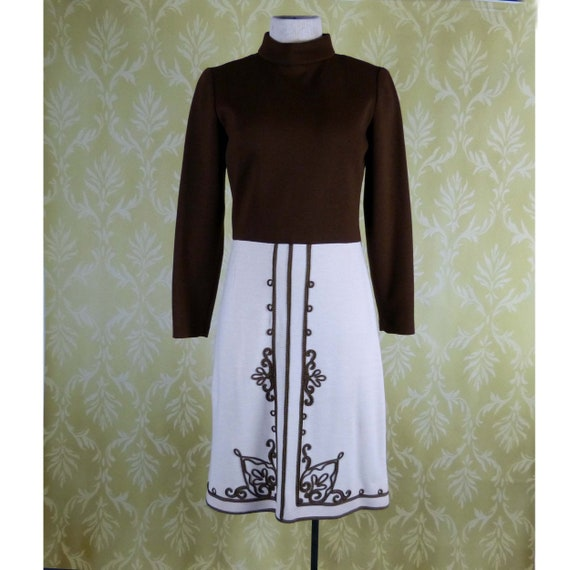 PARADE New York Label Heavy knit Dress 1960 - 70's