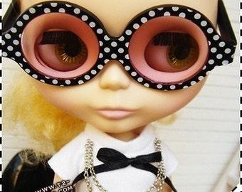 Twiggy Twiggy S02-DBP Blythe glasses Polka Dot
