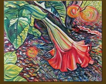 Splendor -- 20 x 24 inch Original Oil Painting by Elizabeth Graf -- Art Painting, Art & Collectibles