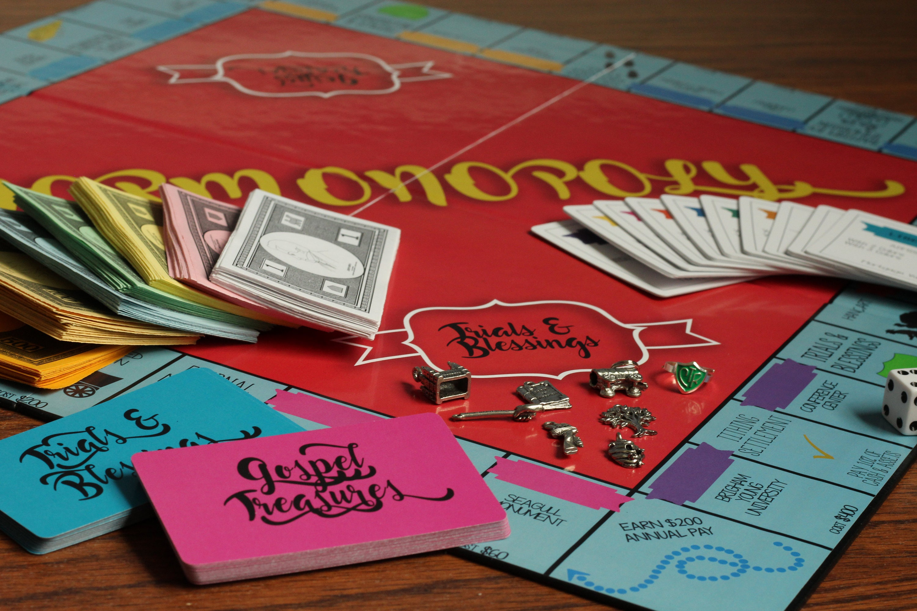 MORMONOPOLY Game An LDS Board Family Game
