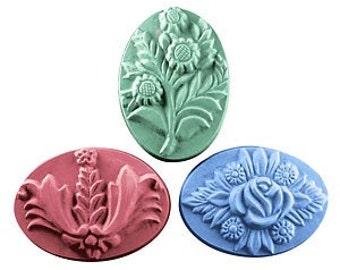Bouquets Soap Mold