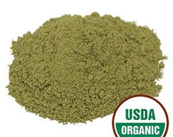 Organic Passion Flower Leaf Powder - 8 ounces