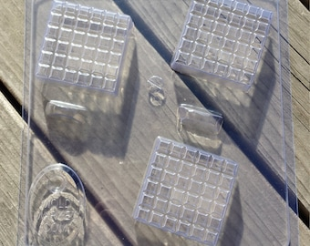 Tiled Square Soap Mold