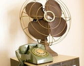 Vintage Industrial Airline Fan -- Oversized and Working