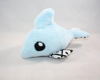 Dolphin, stuffed animal, plushie, toy,