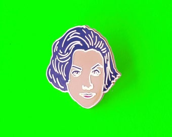 Lapel Pin Audrey Horne from the 90's classic Twin Peaks