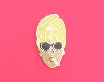 Lapel Pin Patsy from Absolutely Fabulous Ab Fab