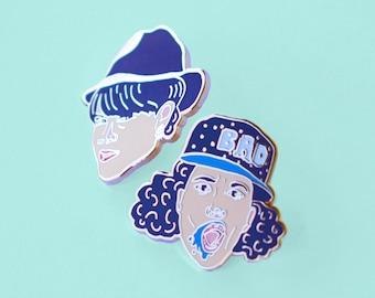Lapel Pin Set; Abbi & Ilana from Broadcity