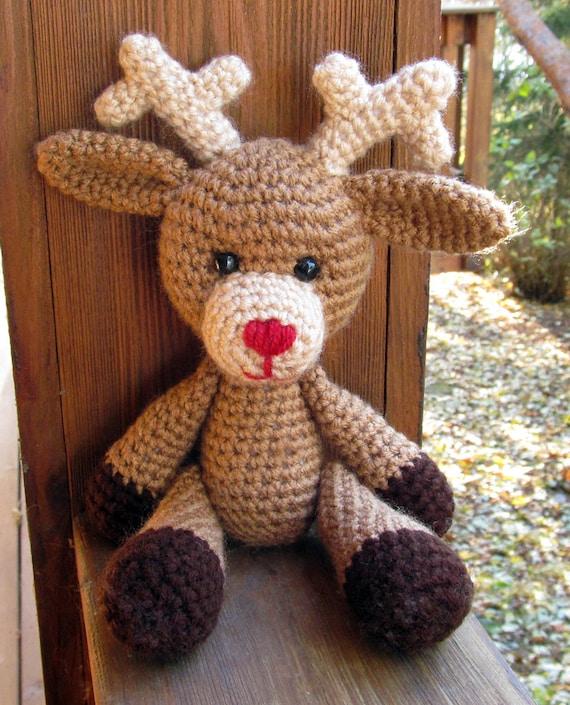 Amigurumi deer Marley crochet tutorial | Amiguroom Toys | 705x570