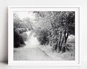 Country Road Print, Black...