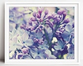 Lilac Flowers Photograph,...