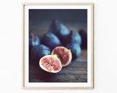 Fig Still Life Print Food...
