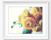 Ranunculus Print, Botanic...